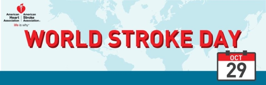 World Stroke Day Banner